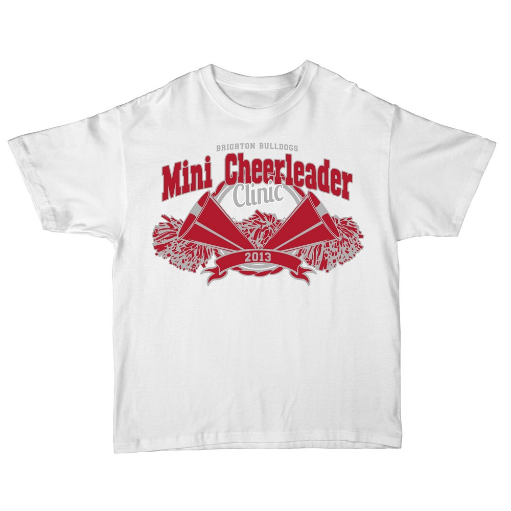 Cox ranch originals promotional products apparel Cheerleading t shirt designs